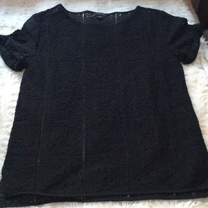 Ann Taylor see through lace style top